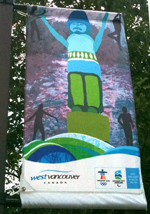 West Vancouver Olympic Banner - 1