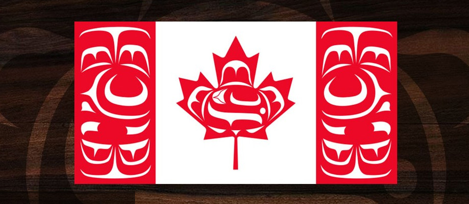 The Canadian Native Flag
