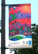 West Vancouver Olympic Banner - 2