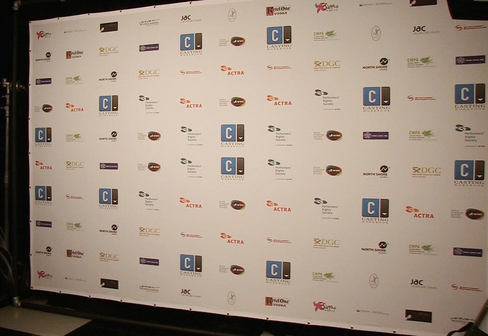 UBCP/Actra Awards Backdrop